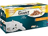 Purina Gourmet Perle Mixed Variety Delicate Meats Duo Adult Wet Cat Food, 60 x 85g