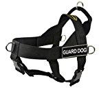 Dean & Tyler DT Universal Guard Dog No Pull Dog Harness, Medium, Black