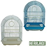 Heritage Cages FPO025 Kendal Bird Cage Budgie Finch Canary 34 x 28 x 49cm Pet Home