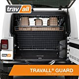 JEEP Wrangler Unlimited Dog Guard (2007-Current) Original Travall® Guard TDG1333 [JK 4 DOOR MODELS ONLY]