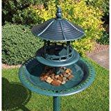 Kingfisher BB01 Ornamental Bird Bath and Table