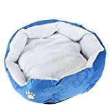 Pet Puppy Dog Cat Kitten Soft Warm Bed House Plush Nest Pad Mat