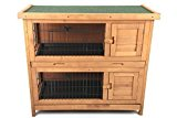 point-zoo double rabbit / small animal hutch / stable / stall
