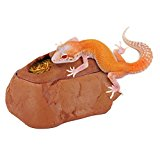 TAONMEISUTM Reptile Cave Hiding Home shell Dome Aquarium Ornament Best Shelter for Small Animal Reptile Turtle Snake Spider Lizard Gecko Frogs