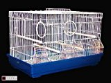 Havana Bird Cage with Divider Suitable for Finches Canaries Budgies