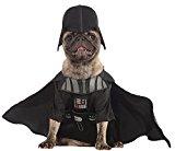 Rubie's Official Pet Dog Costume, Darth Vader, Star Wars - Large