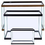 Perfecto Manufacturing APF10202 20-Gallon Aquarium Tank, Long, Black by Perfecto Manufacturing