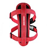 EzyDog Classic Chest Plate Harness, Medium, Red