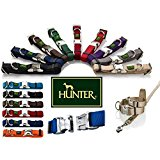 Hunter Collar Vario-Basic ALU-Strong ALL SIZES & COLOURS (Black, Small)