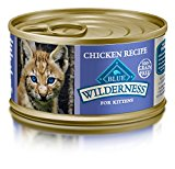 Blue Buffalo Cat Kitten Chicken Entree Wet Cat Food, 3 oz Can, Pack of 24