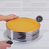 9-12Inch Stainless Steel Circle Mousse Ring Size Adjustable Cake Mould