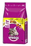 Whiskas 1+ Cat Complete Dry with Chicken, 7 kg