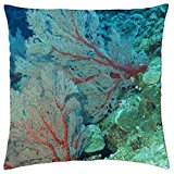 SeaCoral - Throw Pillow Cover Case (18