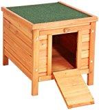 VivaPet Cat /Puppy /Rabbit /Guinea Pig Wooden Hide House - 54 × 43 × 46 cm