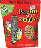 C&s Products 6 Piece Peanut Nuggets For Wild Birds Display CS06105 - Pack of 6