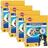 Pedigree Dentastix Dental Dog Chews - Large Dog, Pack of 4 (Total 4 x 28 Sticks)