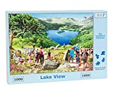 1000 Piece Jigsaw Puzzle - Lake View -
