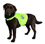 Trixie 30083 '' Safety Vest for Dogs L 64 - 81 cm Black