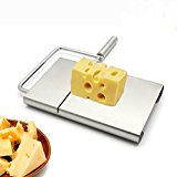 IBEET Cheese Butter Slicer Stainless Steel Cutting Board with Replacement Wire Set?Professional Kitchen Aid