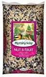 Morning Song Nut and Fruit Blend Wild Bird Food, 15Pound