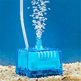 Koly Home Aquarium Fish Tank Pneumatic Biochemical Activated Carbon Filter (Blue)