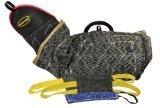 Dean & Tyler 4-Piece Professional Training Bundle Set for Dogs with 1 Intermediate Sleeve/1 Pocket Tug/1 Small Tug/1 Medium Tug