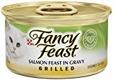 Purina Fancy Feast Cat Food - Salmon Feast In Gravy - Grilled - (1) 3 Oz. Can
