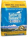 Natural Balance Green Pea & Duck Formula Dry Cat Food