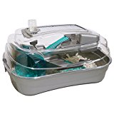 Rosewood Abode Dwarf Hamster and Mouse Home, Silver