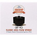 Aquatop Aquatic Supplies Classic Aqua Flow Sponge Aquarium Filter Up To 40 Gal CAF-40