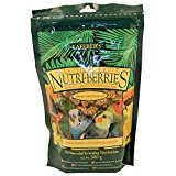 Lafeber NutriBerries Tropical - Sm Parrot & Cockatiel 300g