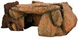 Trixie 8847 Rock Plateau with Tree Trunk Aquarium Decoration 25 cm