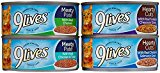 9Lives Wet Cat Food Variety Pack - Poultry Favorites - 40 X 5.5 Ounces