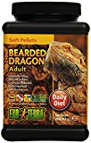 Exo Terra Soft Pellets Adult Bearded Dragon Food, 250 g
