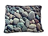 DogZZZZ River Rock Bed - X-Large Rectangle