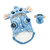 PAWZ Road Pet Dog Clothes Cartoon Stitch Cosplay S Back 23cm