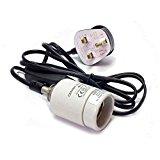 Reptile Vivarium Ceramic Bulb Lamp Heater Holder ES (E27 1