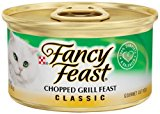 Fancy Feast Classic Chopped Grill Canned Cat Food 3 Oz, Case Of 24