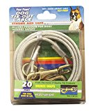 Four Paws Heavy Weight Cable Silver, 20 ft