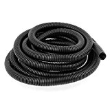 sourcingmap® Flexible Corrugated Hose Tubing 14.5x18.5mm 3.8M for Pond Pump Filter