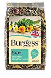 Burgess Excel Mountain Meadow Herbs Snacks 120 g (Pack of 5)