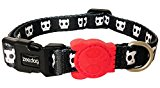 Skull Dog Collar with Dog Skull Motif, Choose Size, (Small Collar)