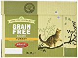 James Wellbeloved Cat Food Adult Turkey Pouch 12 x 85 g