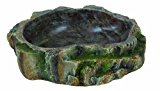 Trixie Reptile Rainforest Decoration Water and Food Bowl, 6 x 1.5 x 4.5 cm, Pack of 6
