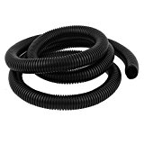 sourcingmap Flexible Corrugated Hose Tubing 17.5x21.2mm 5ft for Pond Pump Filter