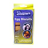 Shaws Egg Biscuits Small Animal Rich in Eggs 6 x 35g 210g