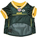 Mirage Pet Products NFL Green Bay Packers Jersey, Medium