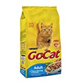 Go-Cat Adult Complete Cat Food with Tuna, Herring & Vegetables (4kg)