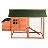 BTM Rabbit Pet Hutch Large Chicken Coop House Poultry Ark Home Nest Box