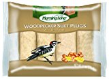 Morning Song 1022446 Woodpecker Suet Plugs Wild Bird Food, 11-Ounce